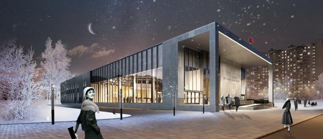 Конкурсный дизайн-проект станции «Шереметьевская». Blank Architects. Изображение предоставлено Агентством стратегического развития «ЦЕНТР»