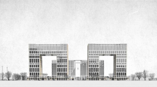 Жилой комплекс на ул. Типанова © Студия 44