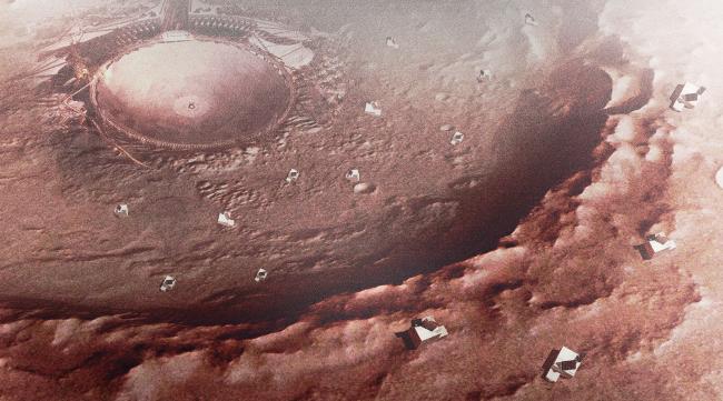 Модуль Марсианин.Adaptive Integrated Module, проект. Изображение предоставлено авторами проекта