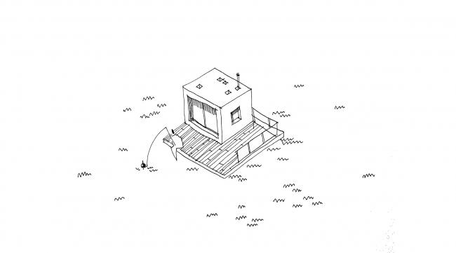Модуль Супер. Adaptive Integrated Module, проект. Изображение предоставлено авторами проекта