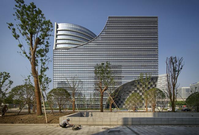 Комплекс Hangzhou Gateway © Julien Lanoo