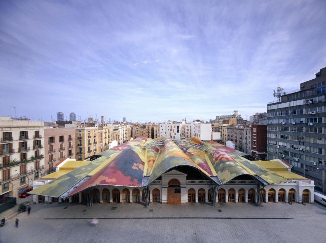 Рынок Санта Катарина, Барселона © EMBT