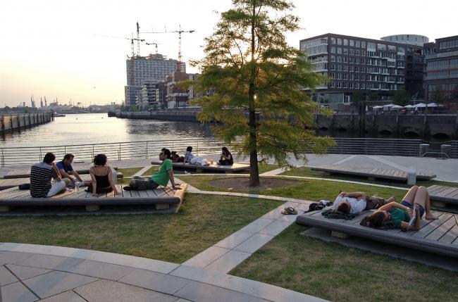 Район Хафенсити, Гамбург © EMBT