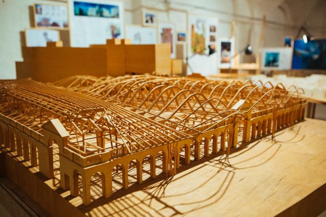 Экспонат выставки EMBT «Городская регенерация – путешествуя по миру» © EMBT