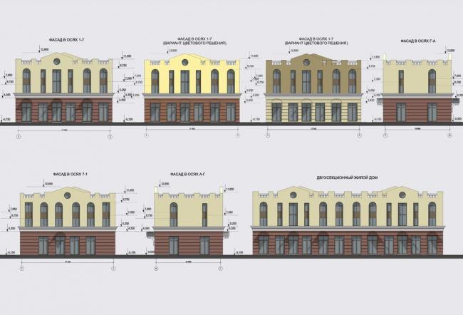 Жилой комплекс «Александровский». Фасады © Архстройдизайн АСД