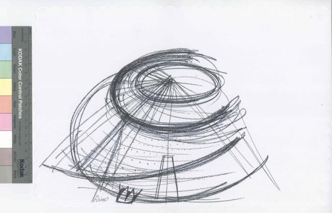 Музей современного искусства в Париже по проекту Тадао Андо. Проект © Artefactory Lab ; Tadao Ando Architect & Associates ; NeM / Niney & Marca Architectes ; Agence Pierre-Antoine Gatier