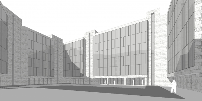Жилой дом на Эсперова © Архитектурная мастерская А.А. Столярчука