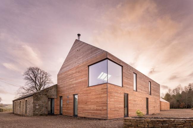 Дом Shawm House, Нортумберленд.  MawsonKerr Architects. Фото © Rob  Rhodes