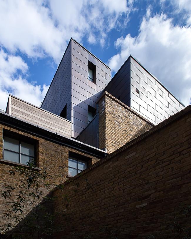 Дом The Cooperage, Лондон. Chris Dyson Architects. Фото © Peter  Landers
