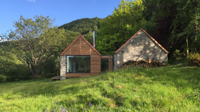 Дом Fernaig Cottage, Уэстер-Росс ©  Scampton and Barnett Architects
