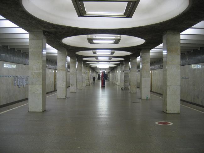 Станция метро «Орехово». Фото: A.Savin via Wikimedia Commons. Лицензия CC BY-SA 3.0