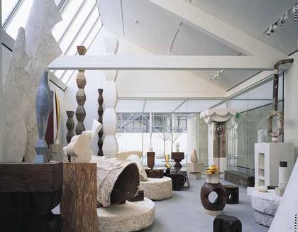 Ренцо Пьяно. Музей-мастерская Константина Бранкузи. Париж. 1997