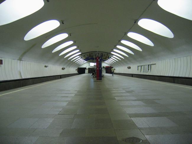 Станция метро «Отрадное». Фото: A.Savin via Wikimedia Commons. Лицензия CC BY-SA 3.0
