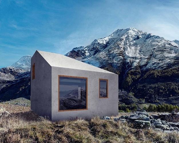 Серия индивидуальных жилых домов <A-Z> © Архслон