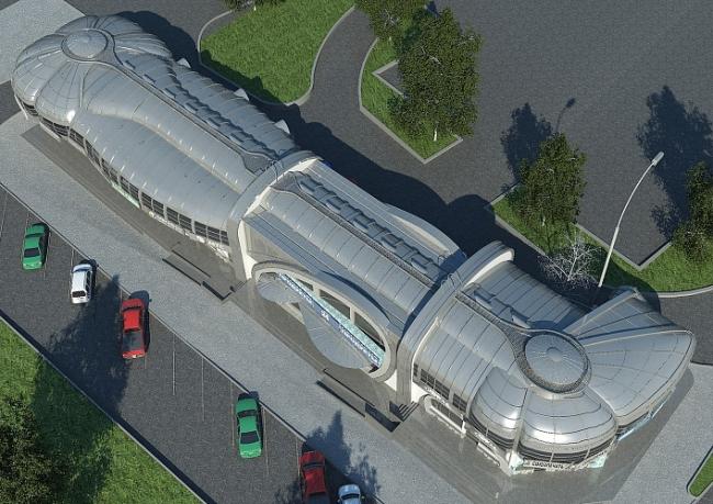 Торговый центр «Болид» © Архитектурная фирма «Стилистика»