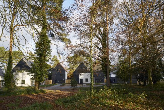 Комплекс пассивных домов Carrowbreck Meadow, Норидж.  Hamson Barron Smith. Фото © Jefferson Smith