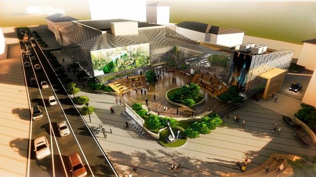 Проект Реновации Инновационного комплекса Центрального Дома Предпринимателя © Платформа