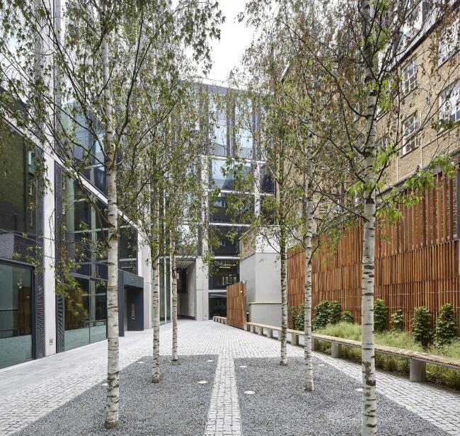 Многофункциональный центр 40 Chancery Lane, Лондон.  Bennetts Associates. Фото © Allan Crow