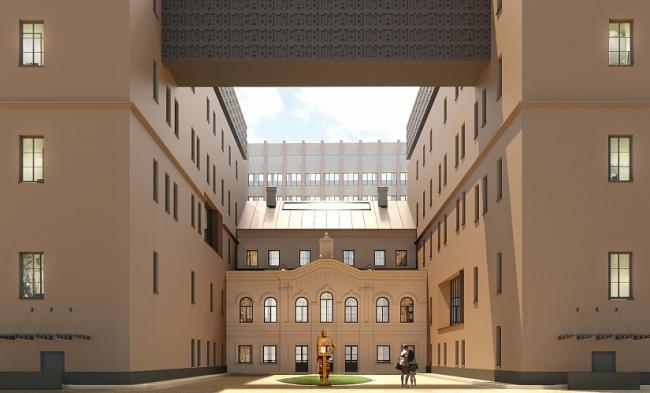 Офис уполномоченного по правам человека в Российской Федерации © Мэрал-студия