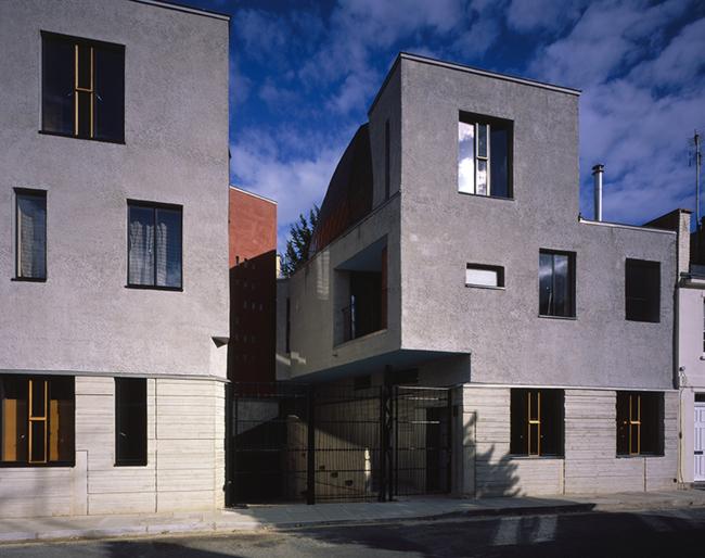Жилой комплекс Walmer Yard, Лондон.  P Salter & Associates + Mole Architects + John Comparelli Architects. Фото © Hélène Binet