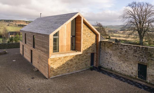 Частный дом Shawm House, Нортумберленд.  MawsonKerr Architects. Фото © Rob  Rhodes