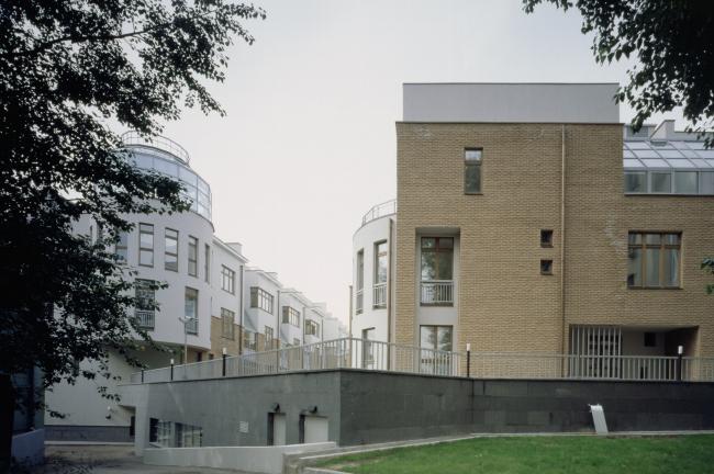 Комплекс Таунхаусов. Комплексная реконструкция двух домовладений © АБ Остоженка