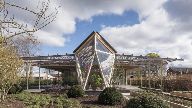 Центр Мэгги в больнице Кристи, Манчестер.  Foster + Partners. Фото © Nigel Young