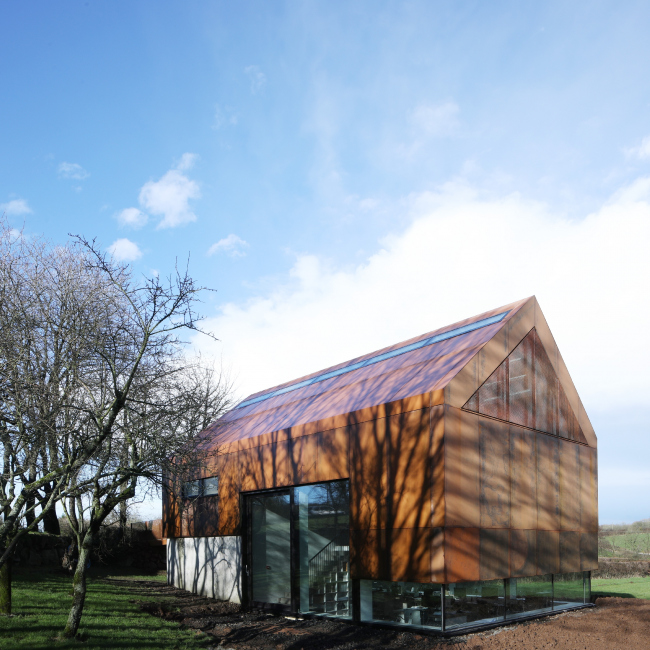 Офис Fallahogey Studio, Килри, Ирландия.  McGarry-Moon Architects Ltd. Фото © Adam Currie