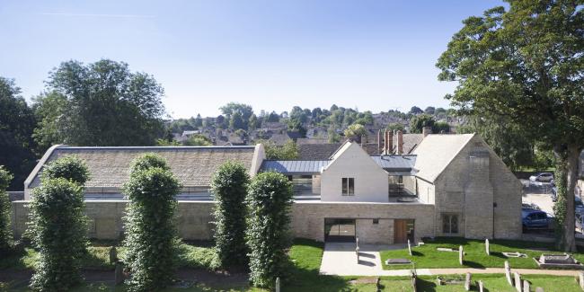 Общественный центр Warwick Hall, Оксфордшир.  Acanthus Clews Architects. Фото © Andy Marshall