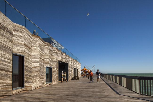 Пирс в Гастингсе, Восточный Суссекс. dRMM Architects. Фото © Francesco Montaguti