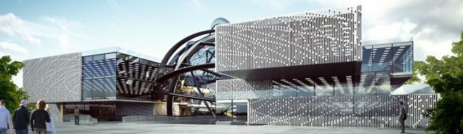 Павильон «Росатом» на ВДНХ © Моспроект