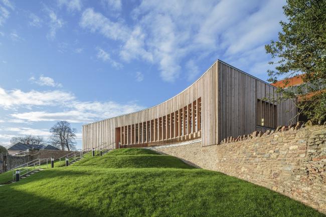 Новый концертный зал школы Уэллского собора, Сомерсет.  Eric Parry Architects. Фото © Dirk  Lindner