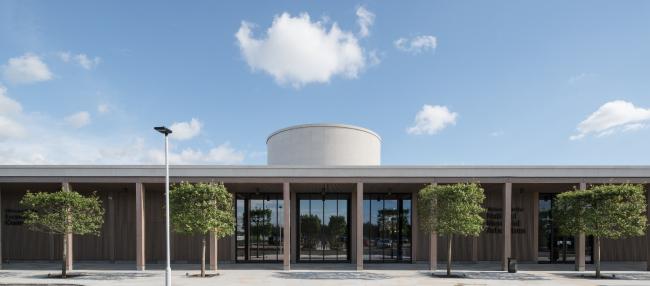 Центр памяти Национального мемориального дендрария, Личфилд.  Glenn Howells Architects. Фото © Paul Miller