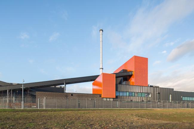 Электростанция Blackburn Meadows Biomass, Шеффилд.  BDP. Фото © Paul  Karalius