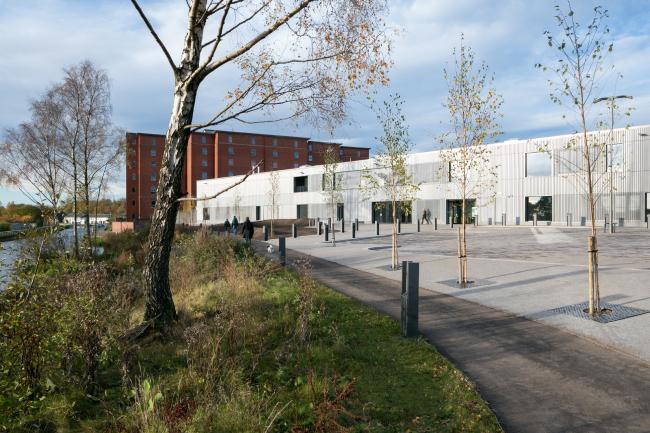 Административный корпус Rockvilla Национального театра Шотландии, Глазго.  Hoskins Architects. Фото © Dapple Photography