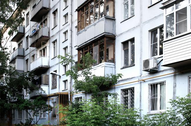 Пятиэтажный панельный жилой дом серии I-515, 1964, жители проголосовали против реновации. Фотография © Юлия Тарабарина, Архи.ру