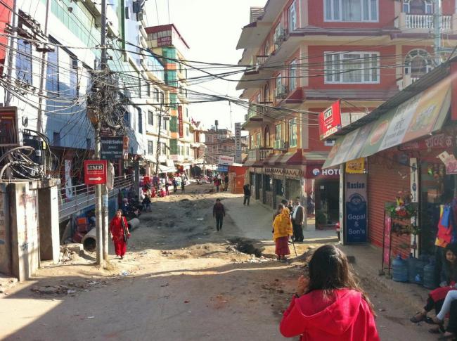 Катманду. Жилые дома в районе Синамангал. Фото © Екатерина Михайлова