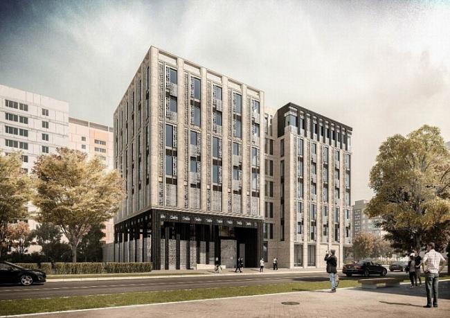 Жилой комплекс The Mostman © Бюро архитектурных и дизайнерских решений «Пять»