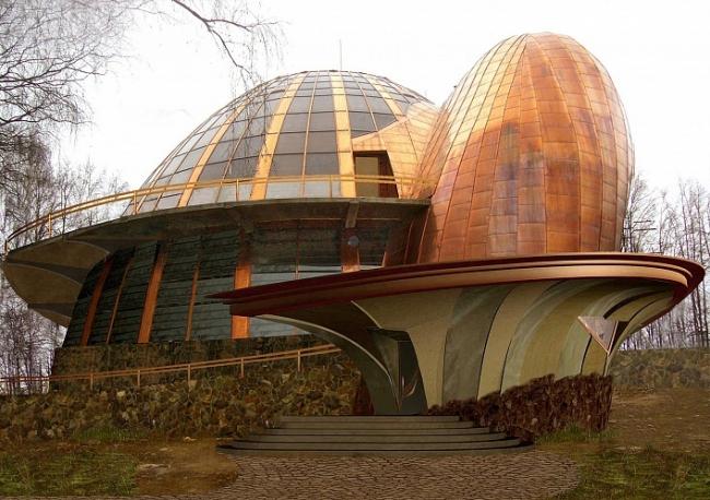 Студия ландшафтного дизайна FLORABLOB © Архитектурная фирма «Стилистика»