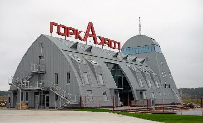 Аэровокзал вертодрома «Горка» © Romanoff-h