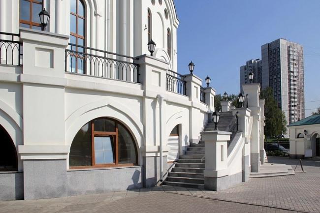 Храм Преподобного Сергия Радонежского в Солнцево © Моспроект-3