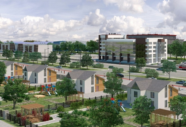 Проект развития территории вблизи деревни Кувекино © ГлавАПУ