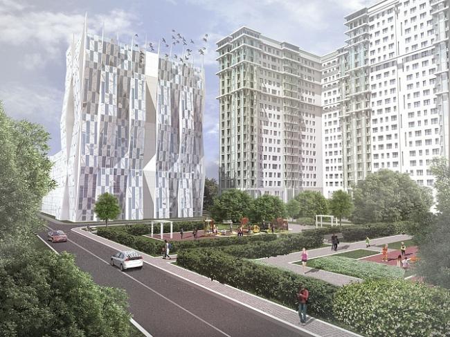Проект развития территории по Варшавскому шоссе © ГлавАПУ