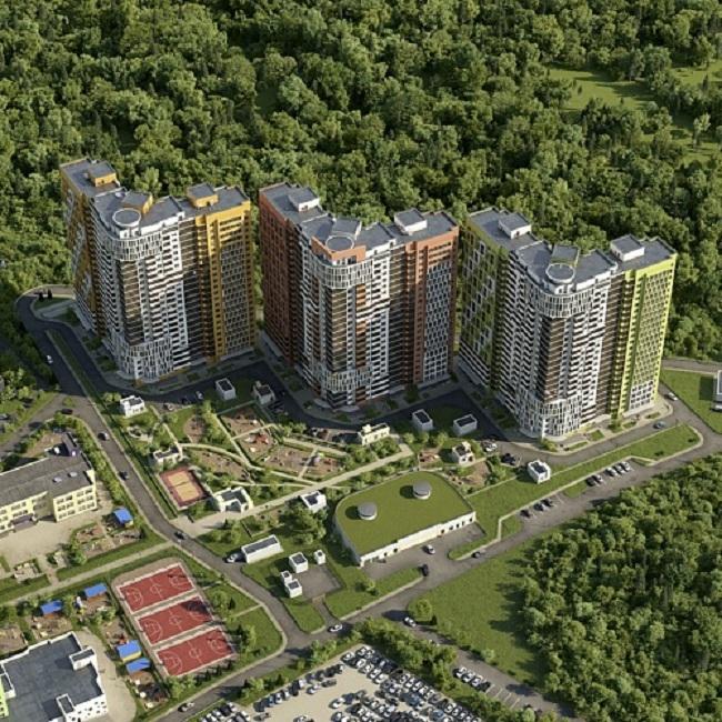 Жилой комплекс на Рублевском шоссе © ЗАО «Капстройпроект»