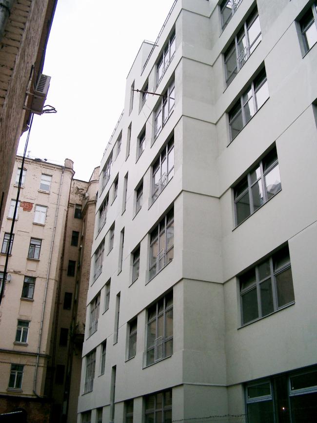 Жилые дома в 1-м Обыденском переулке © АБ Остоженка