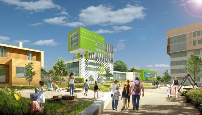 Архитектурно-градостроительная концепция малоэтажной жилой застройки в Щелково © Портал Проект