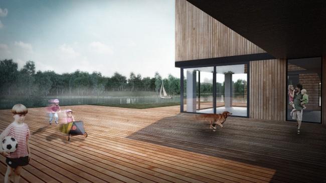 Частный жилой дом на Рузском водохранилище © Nefa architects