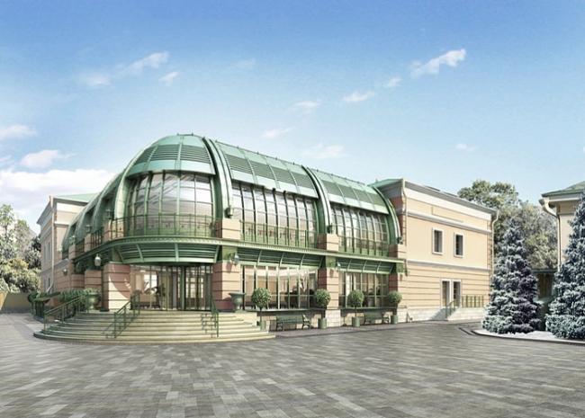 Реконструкция здания банка © Альянс-Бюро
