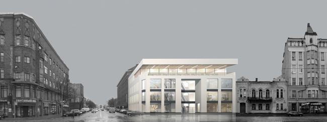 Торговый центр в Выборге © Архитектурная мастерская Головин & Шретер