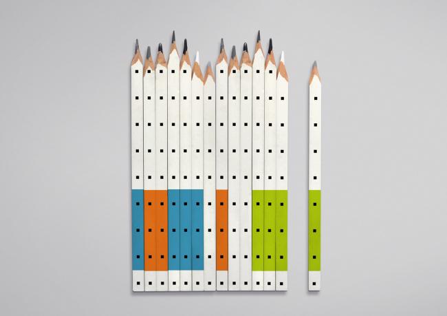Новый фирменный стиль агентства стратегического развития «ЦЕНТР». Изображение предоставлено агентством